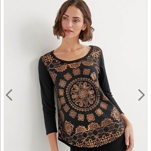 NWT Lucky Brand Graphic Tee